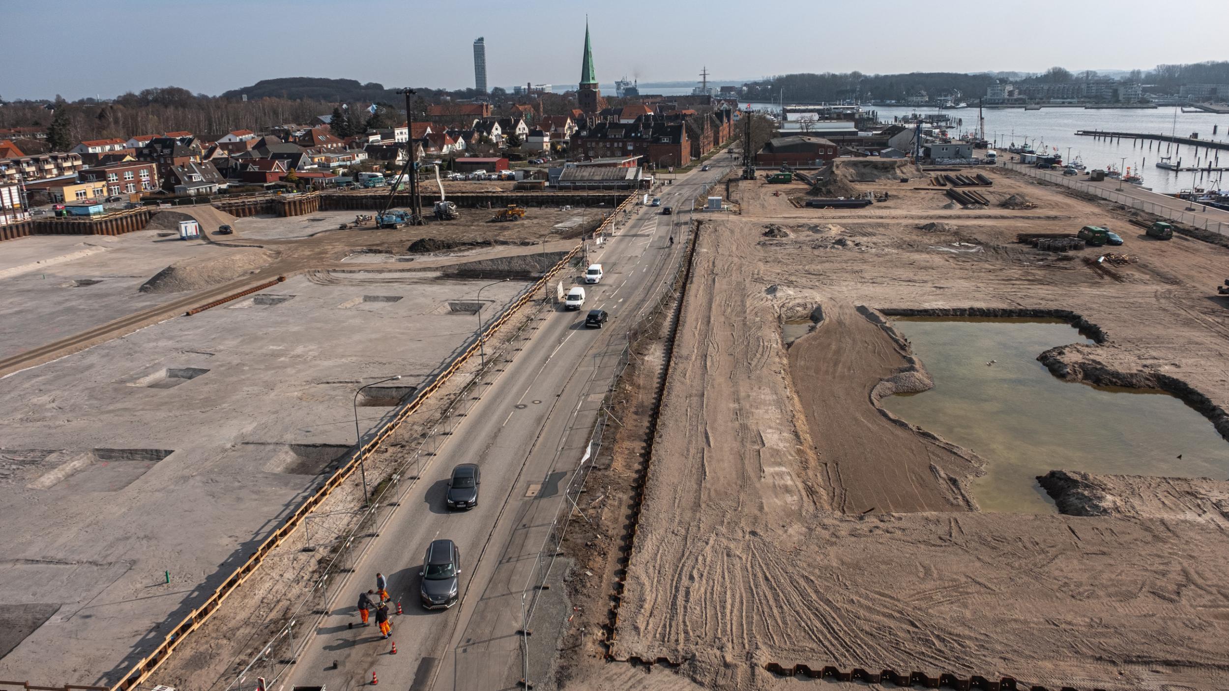 Vom alten Hafen zum neuen Quartier