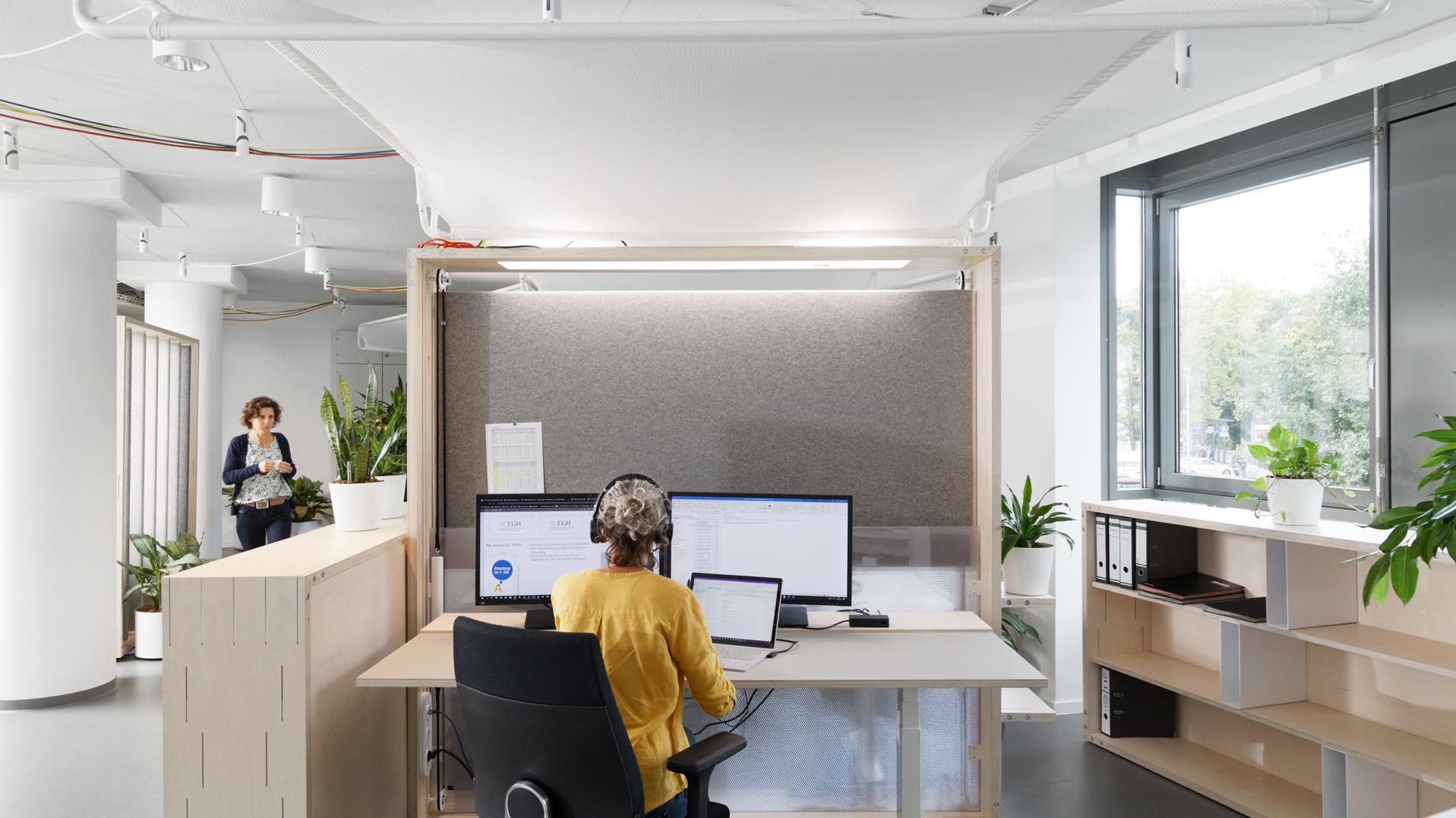 FRANKsches Element FRANK Bürowelt Arbietswelt FRANKsches Quartier