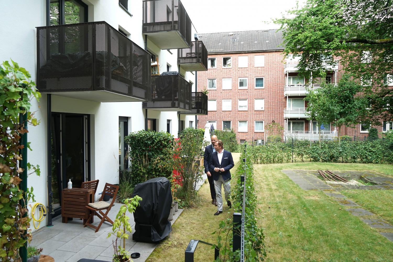 Kai Andritschke im Garten