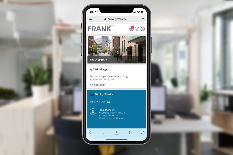 FRANK WEG App