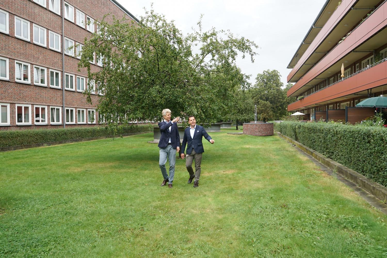 Frank Pentzin und Ulf Schauenburg