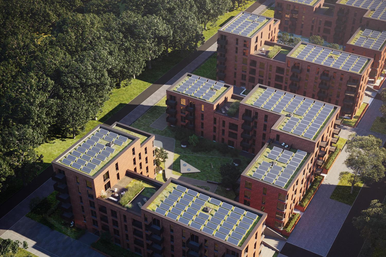 Photovoltaik Helling Luftbild