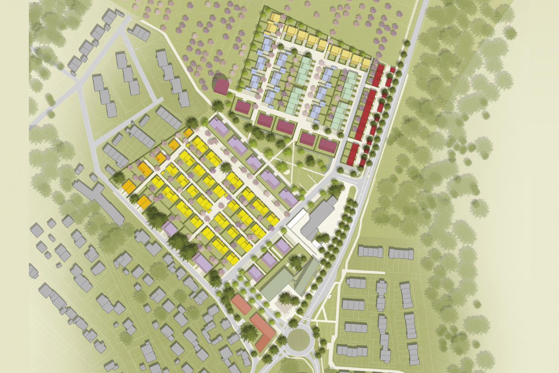 ÖkoSiedlung Friedrichsdorf Städtebauliche Entwicklung