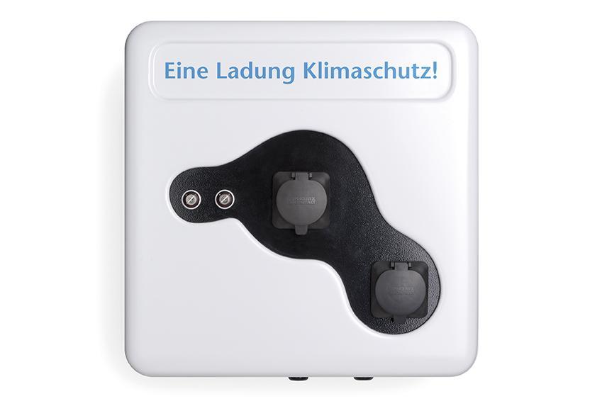 Eco Ladestation E-Pkw Lebensformat