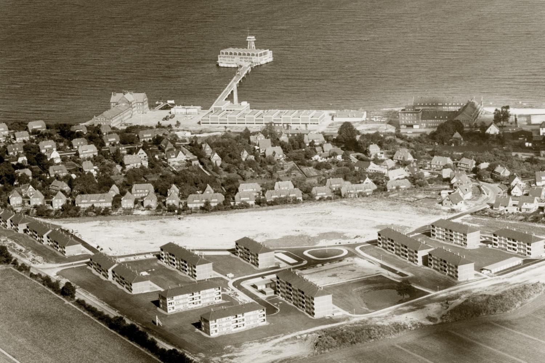 Mietwohnungen Eckernförde Luftbild